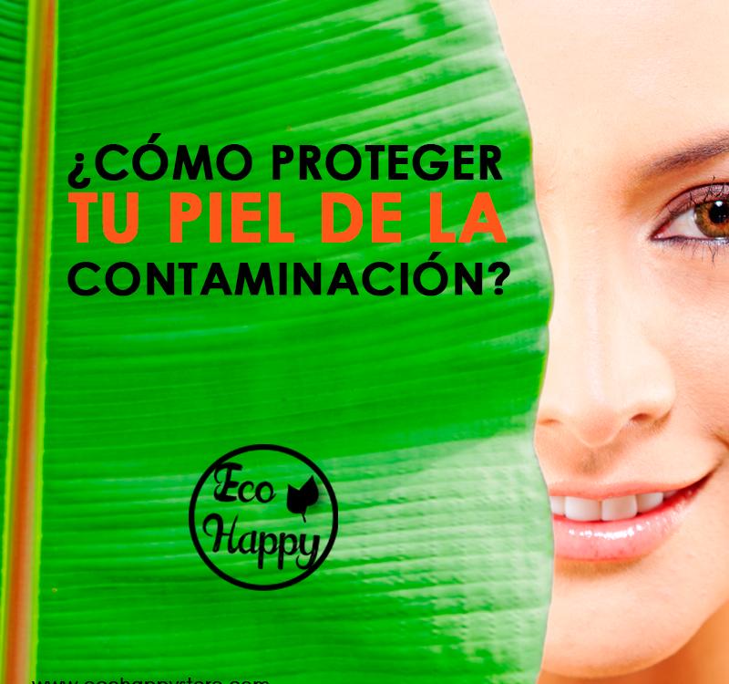 Protege tu piel de la contaminación
